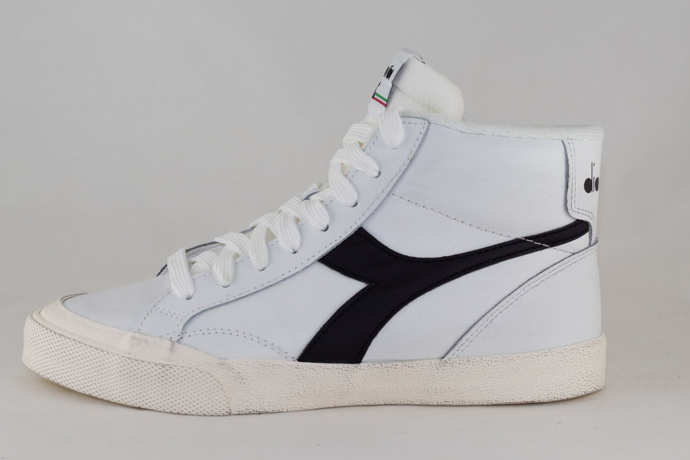 DIADORA DIADORA MELODY MID LEATHER DIRTY White/ Black