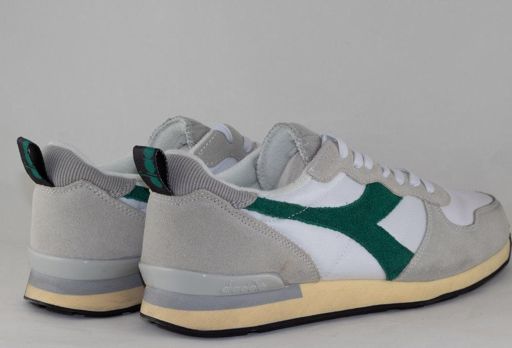 DIADORA CAMARO USED White/ Verdant Green