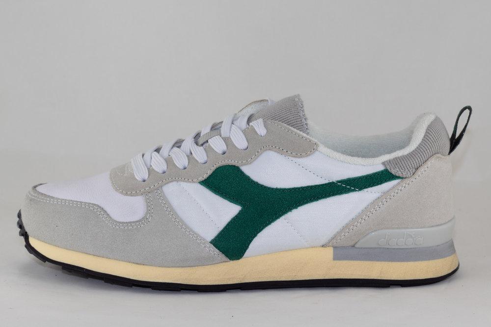 DIADORA DIADORA CAMARO USED White/ Verdant Green