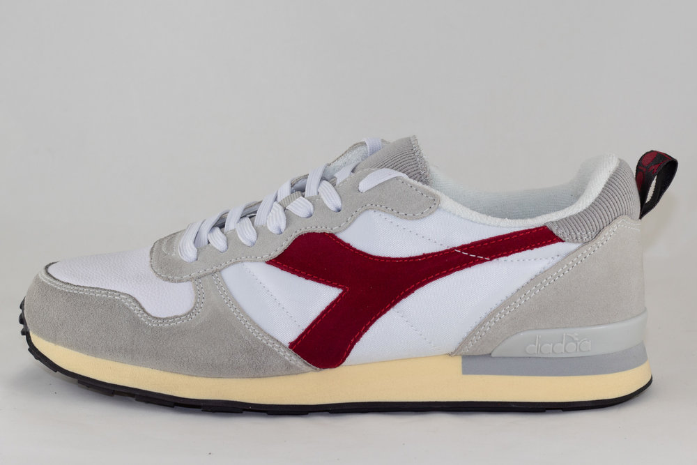 DIADORA DIADORA CAMARO USED White/ Tango Red