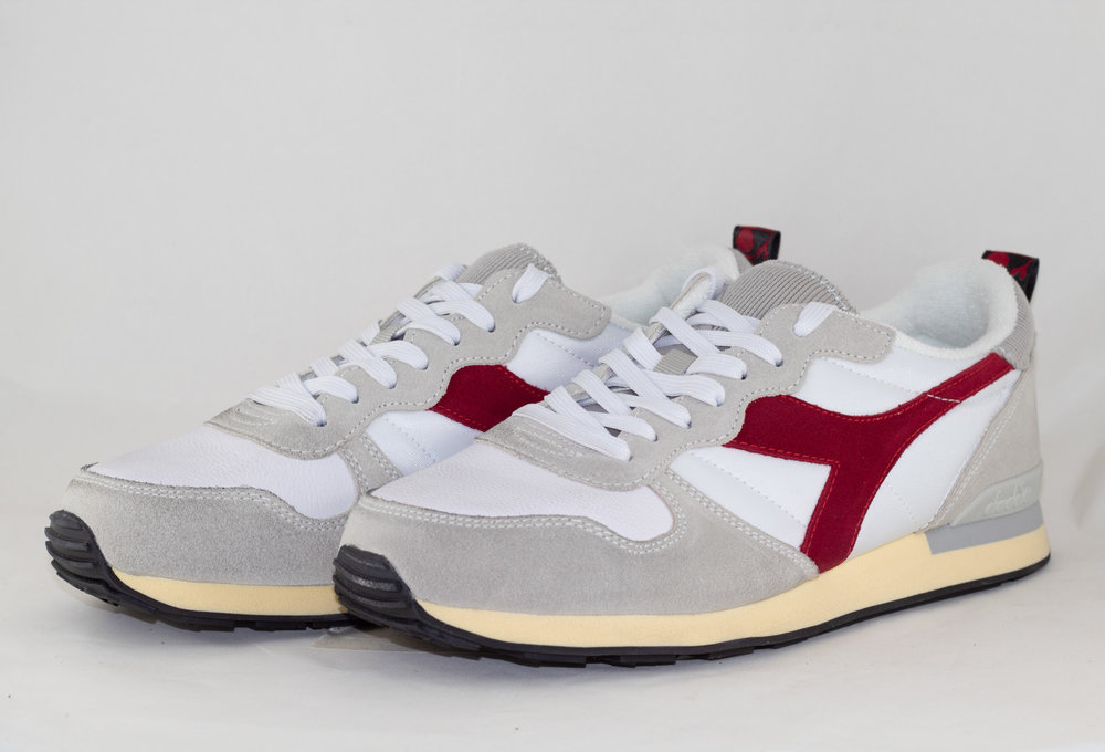 DIADORA CAMARO USED White/ Tango Red