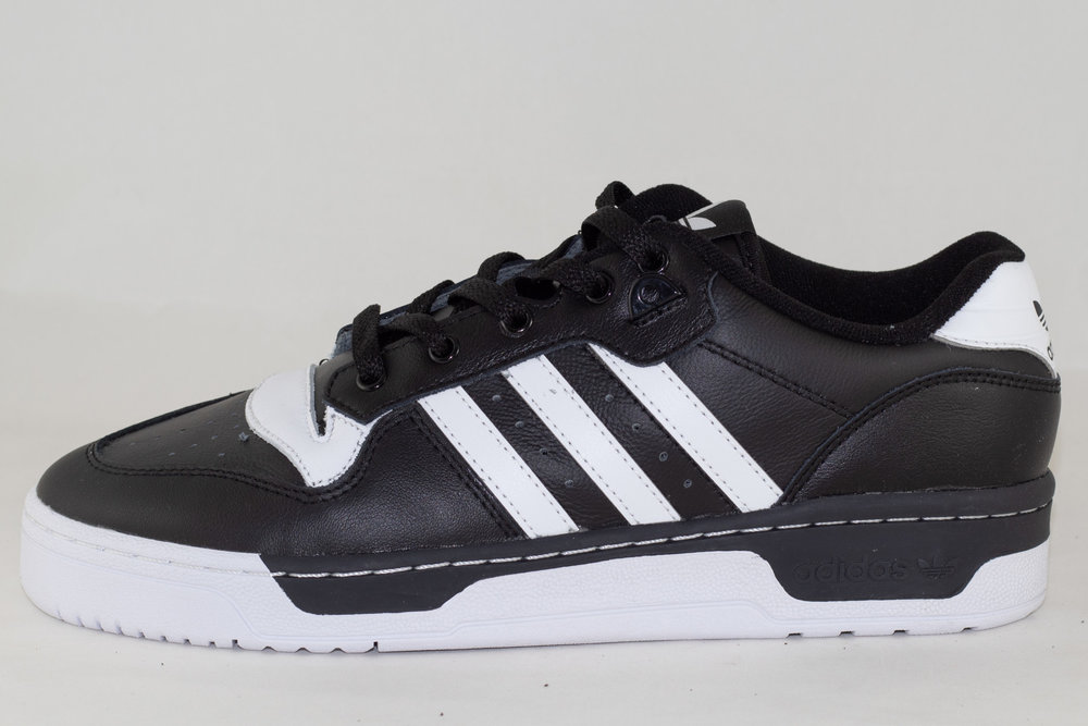 ADIDAS ADIDAS RIVALRY LOW Cblack/ Ftwwht/ Ftwwht
