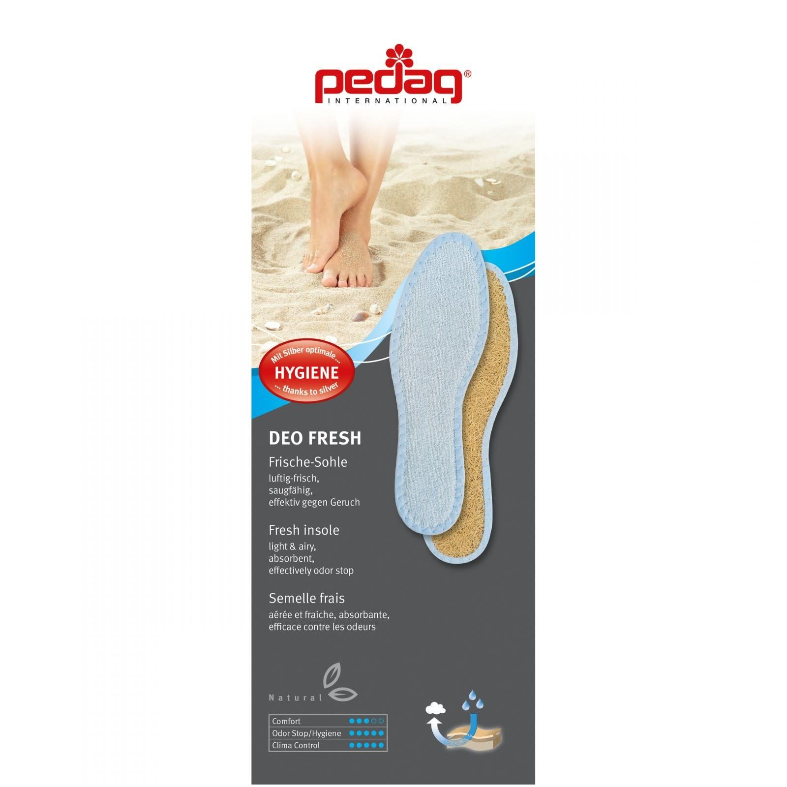 PEDAG PEDAG SOLES Deo Fresh Silver