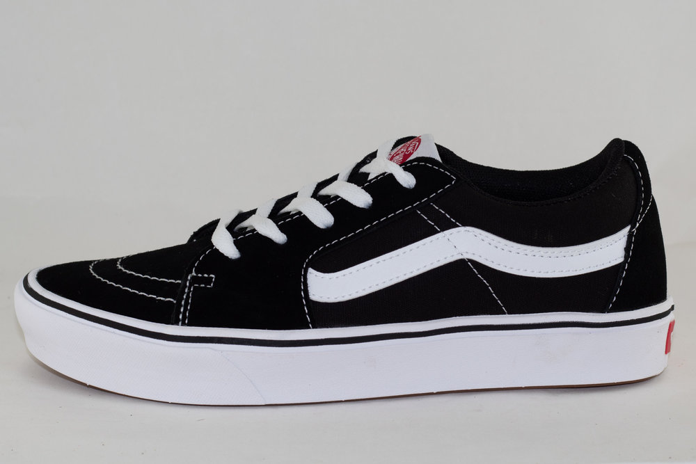VANS VANS COMFYCUSH SK8-LOW (CLASSIC) Black/ True White