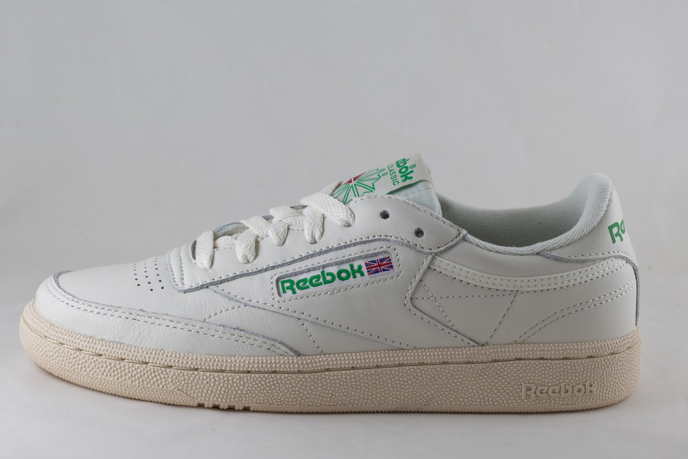 REEBOK REEBOK CLUB C 85 VINTAGE Chalk/Green/White/Red