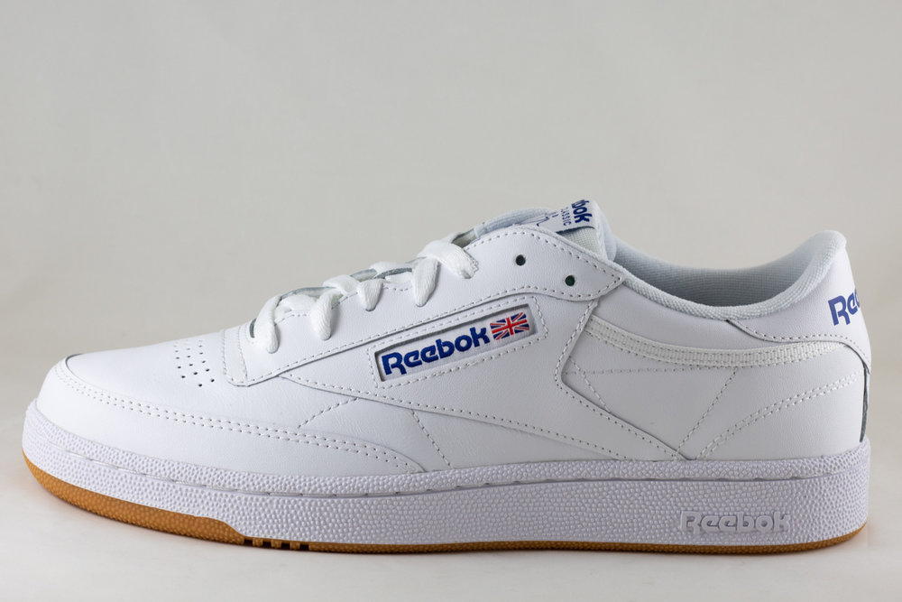 REEBOK M REEBOK CLUB C 85 White/Royal Gum