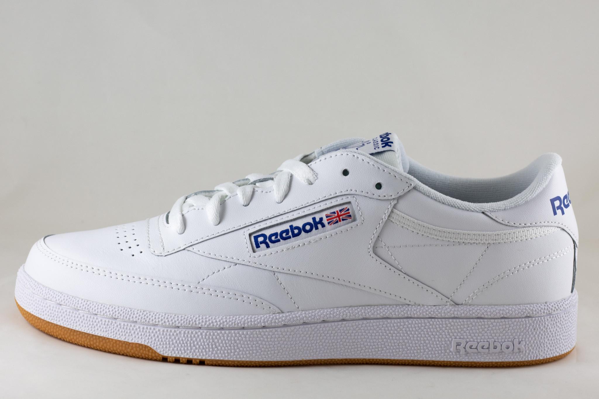 REEBOK CLUB C 85 White/Royal Gum