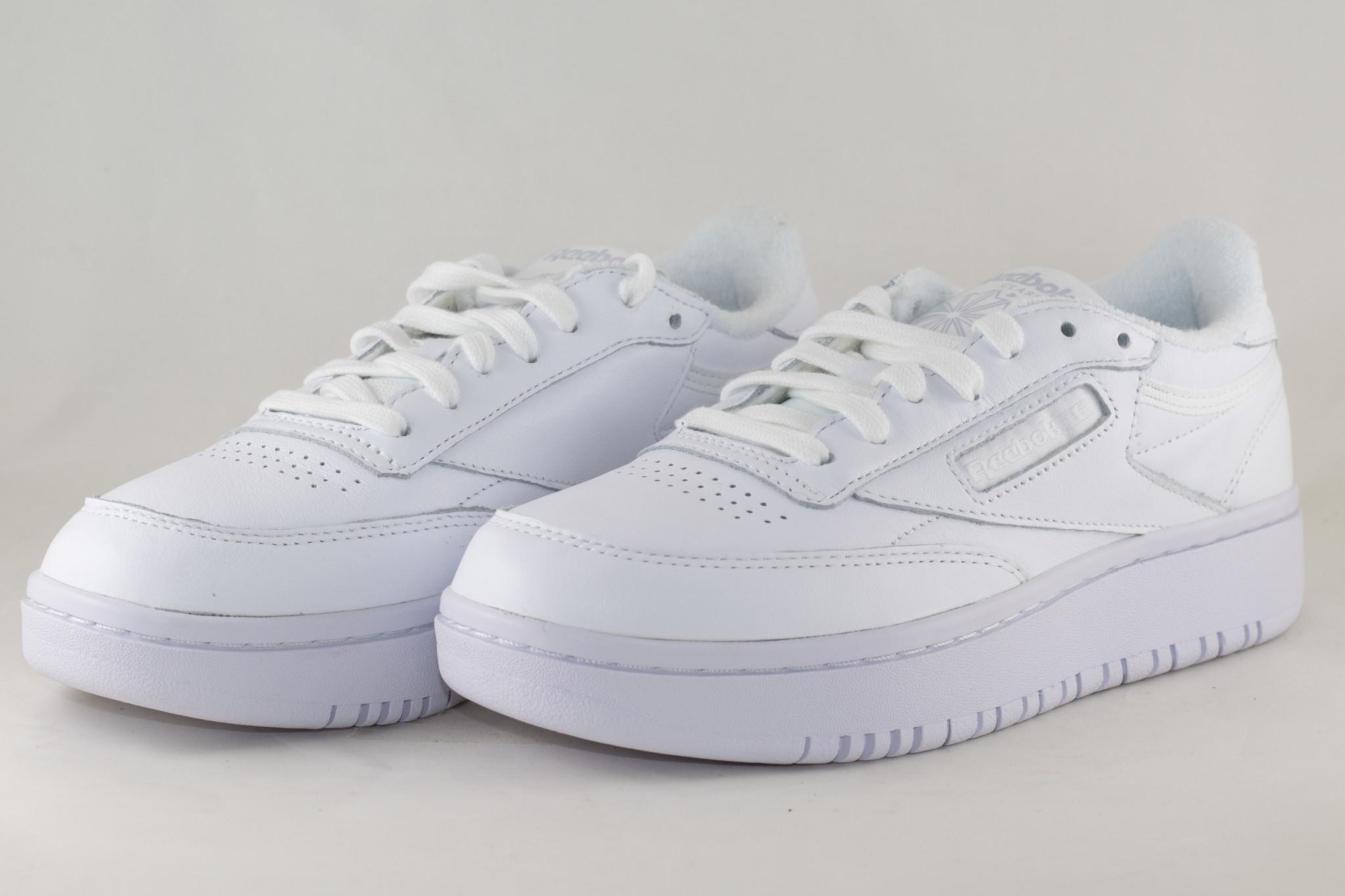 REEBOK CLUB C DOUBLE White/ White/ Cdgry2