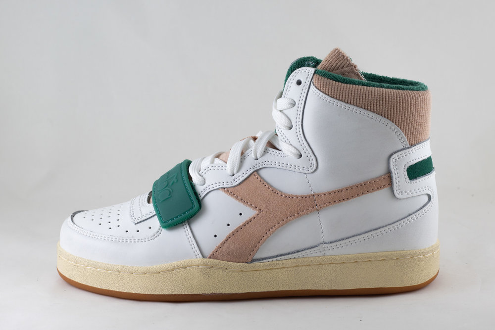 DIADORA DIADORA MI BASKET USED White/ Almost Apricot
