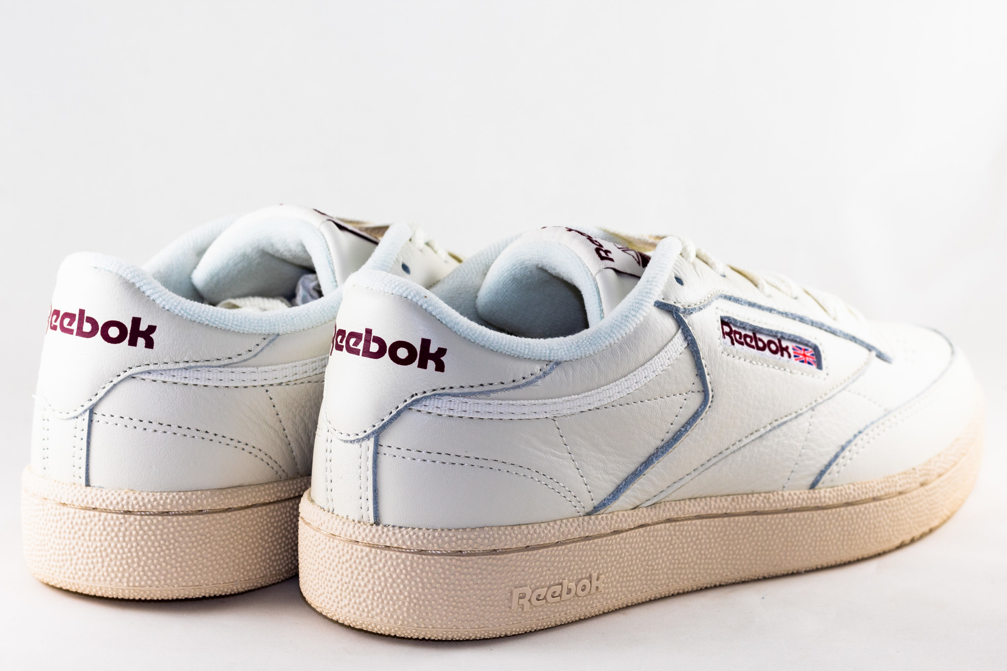 REEBOK REEBOK CLUB C 85  MU Chalk/ Paperwhite/ Maroon