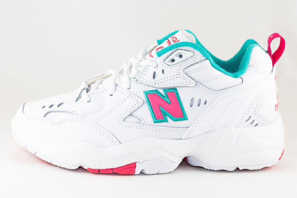 NEW BALANCE NEW BALANCE WX608WT1  White/ Pink/ Teal