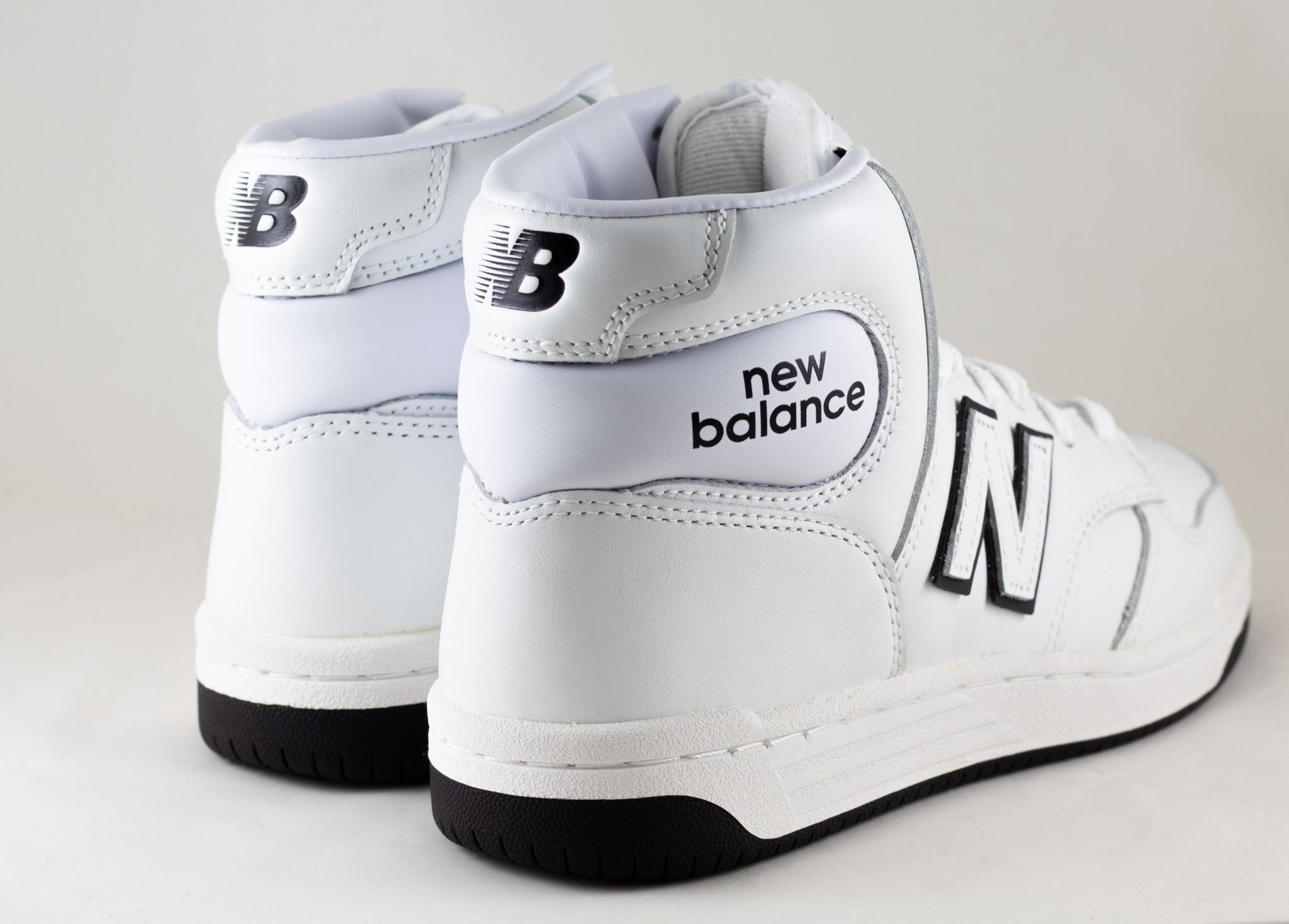 NEW BALANCE BB480HE White/ Black
