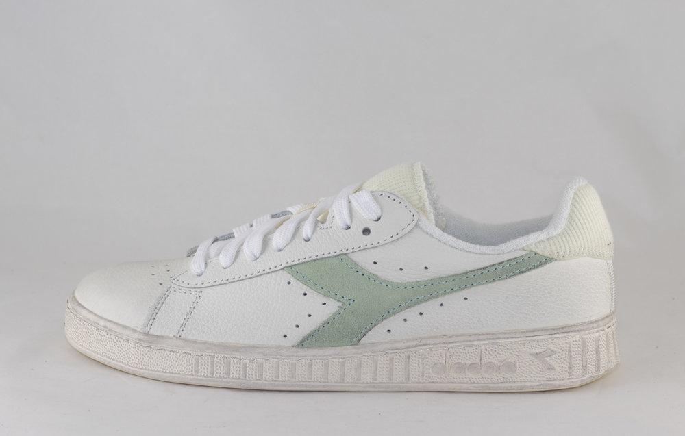 DIADORA DIADORA GAME LOW ICONA WN White/ Celadon Green