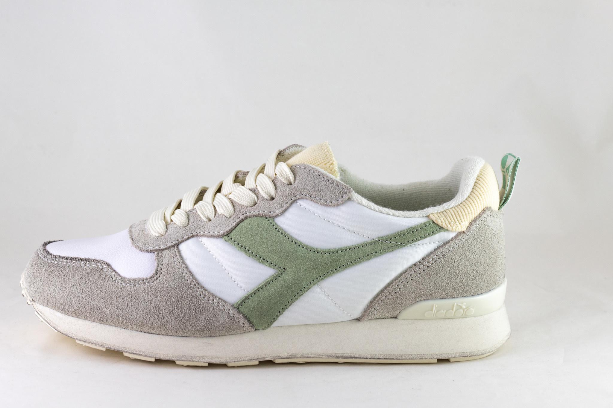 DIADORA CAMARO ICONA White/ Celadon Green