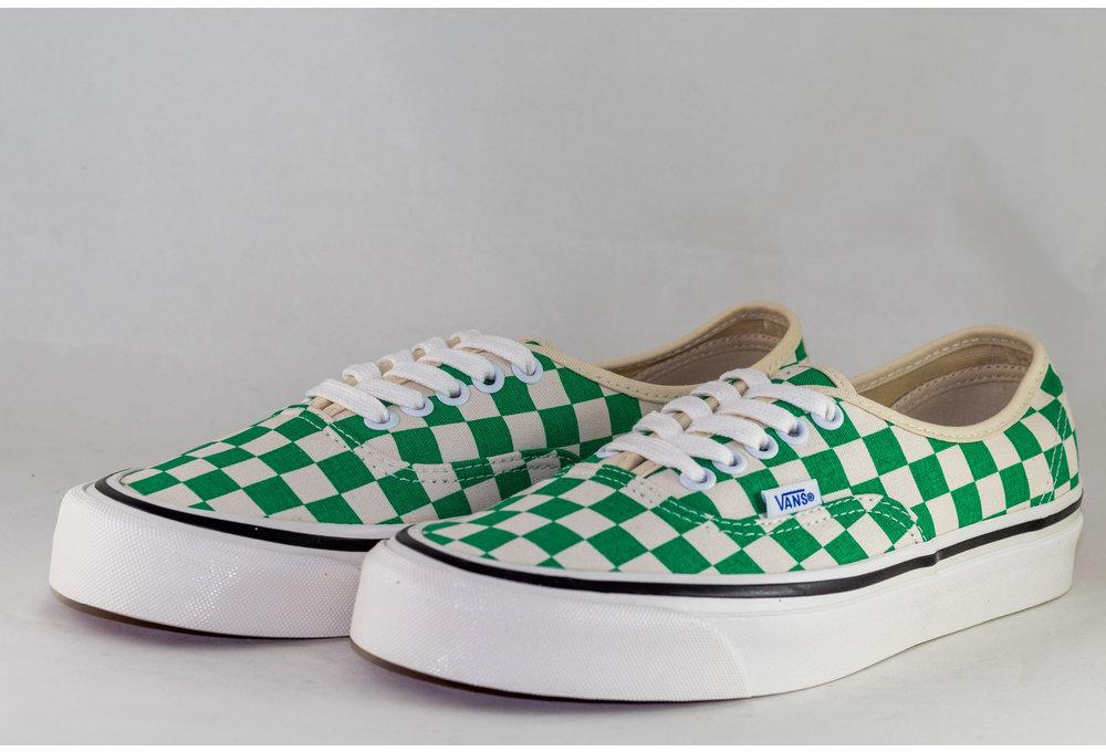 VANS AUTHENTIC 44 DX (Anaheim Factory) Og Emerald/ Og checker