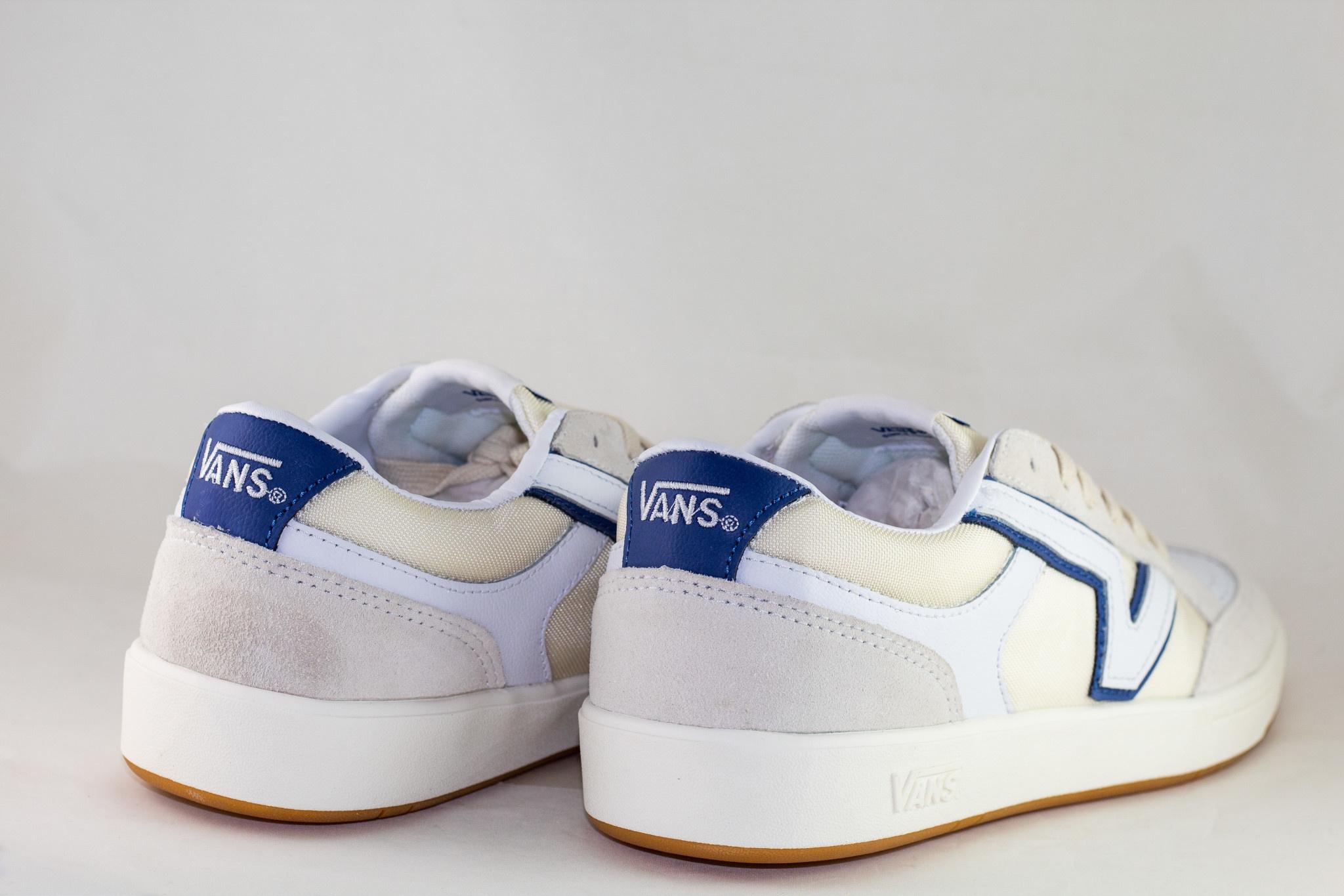 VANS LOWLAND CC  (Serio Collection) White/ True Navy