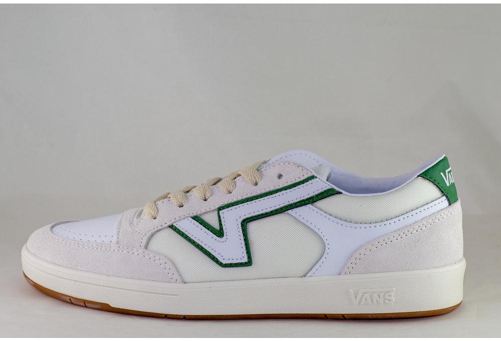 VANS LOWLAND CC  (Serio Collection) White/ Juniper