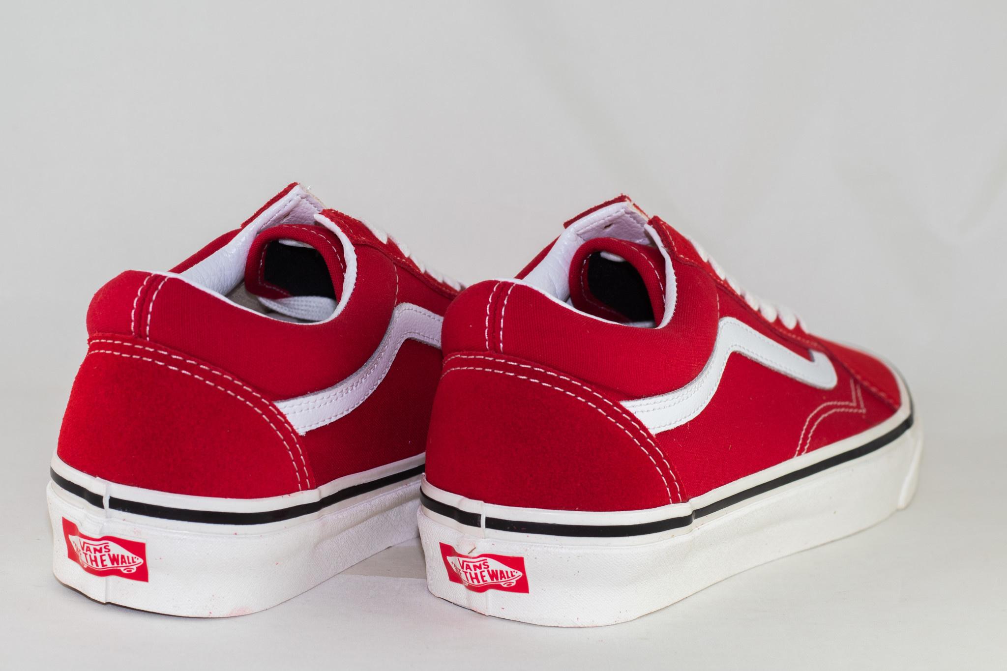 VANS OLD SKOOL 36 DX (Anaheim Factory) Og Red/ Og White