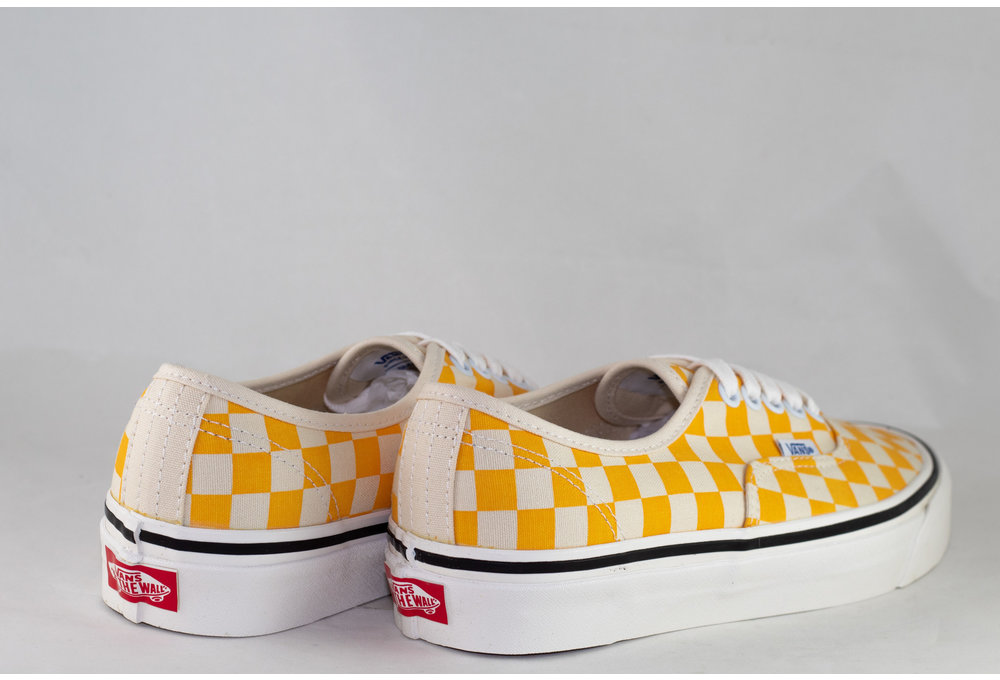 VANS AUTHENTIC 44 DX (Anaheim Factory) Og Yellow/ Og Checker