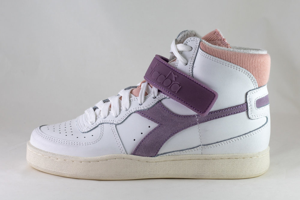 DIADORA DIADORA MI BASKET MID ICONA WN White/ Nirvana/ Evening Sand