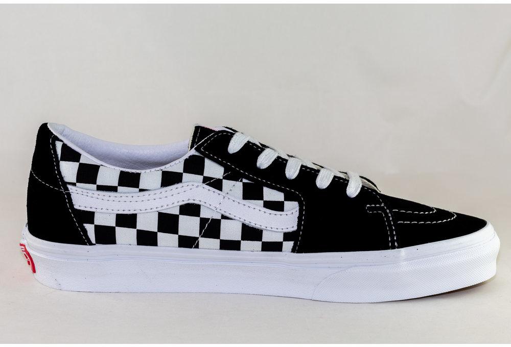 VANS SK8-LOW Black/ Checkerboard