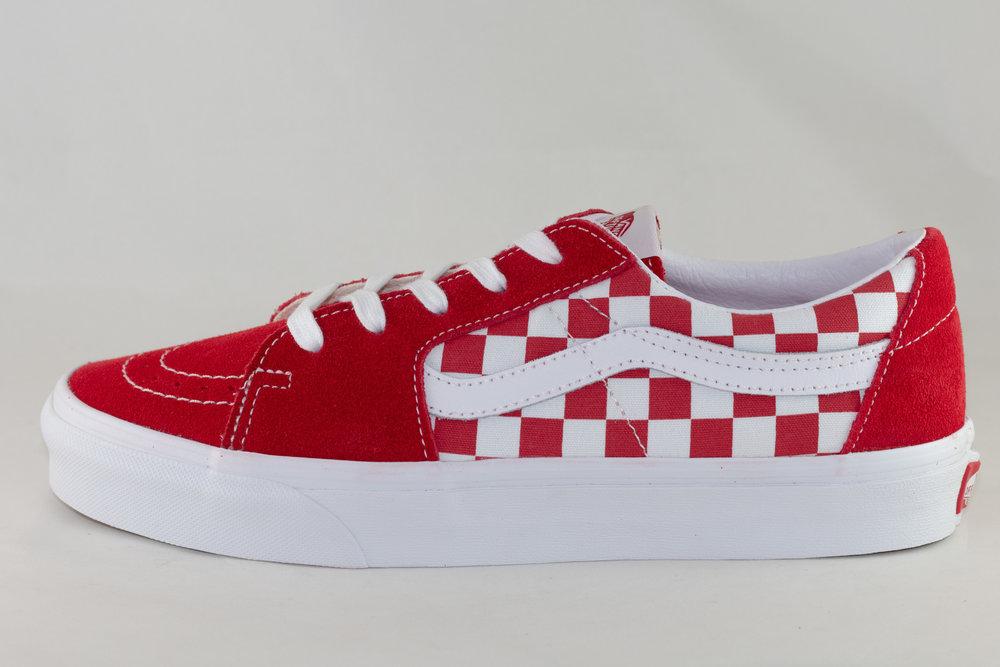 VANS VANS SK8-LOW Racing Red/ Checkerboard