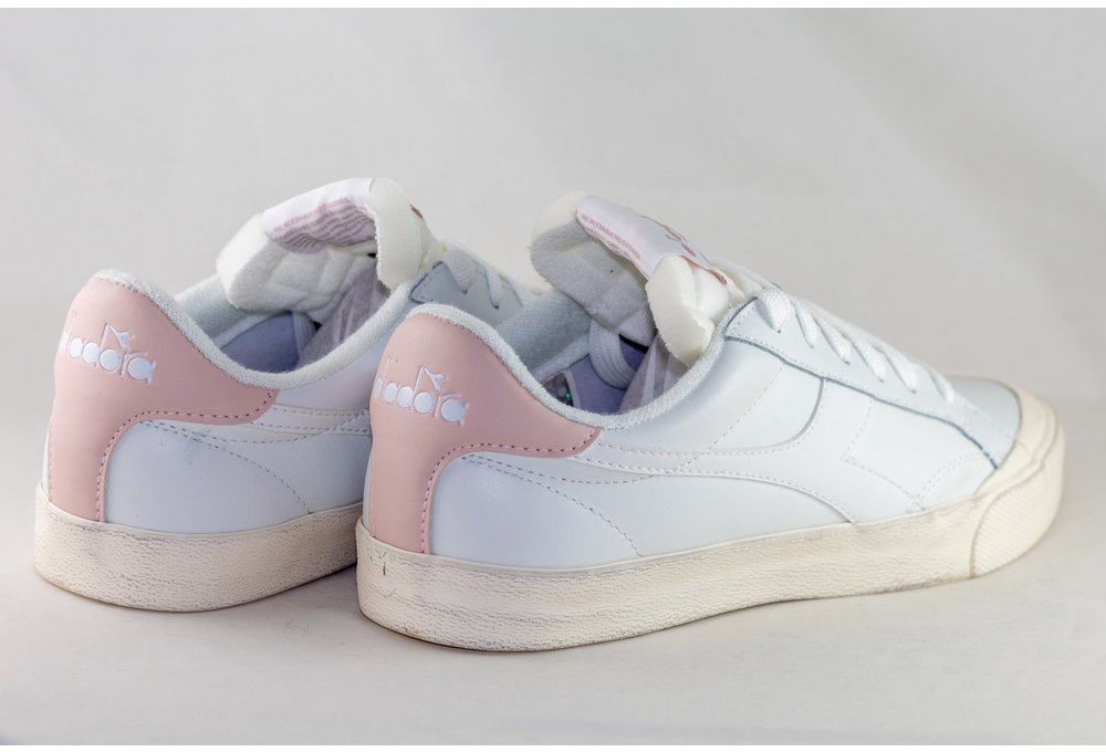 DIADORA  MELODY LEATHER  White/ Pink Cloud