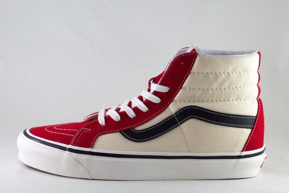 VANS VANS SK8-Hi 38 DX (ANAHEIM) Og Red/ Og White/ Og Black