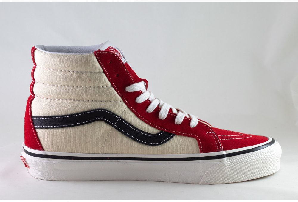 VANS SK8-Hi 38 DX (ANAHEIM) Og Red/ Og White/ Og Black