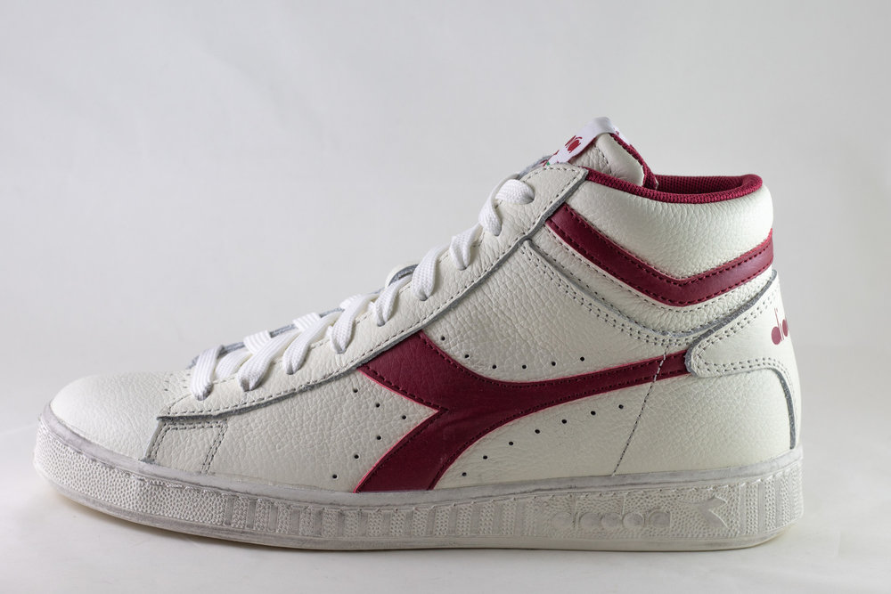 DIADORA DIADORA GAME HIGH White/ Red Pepper