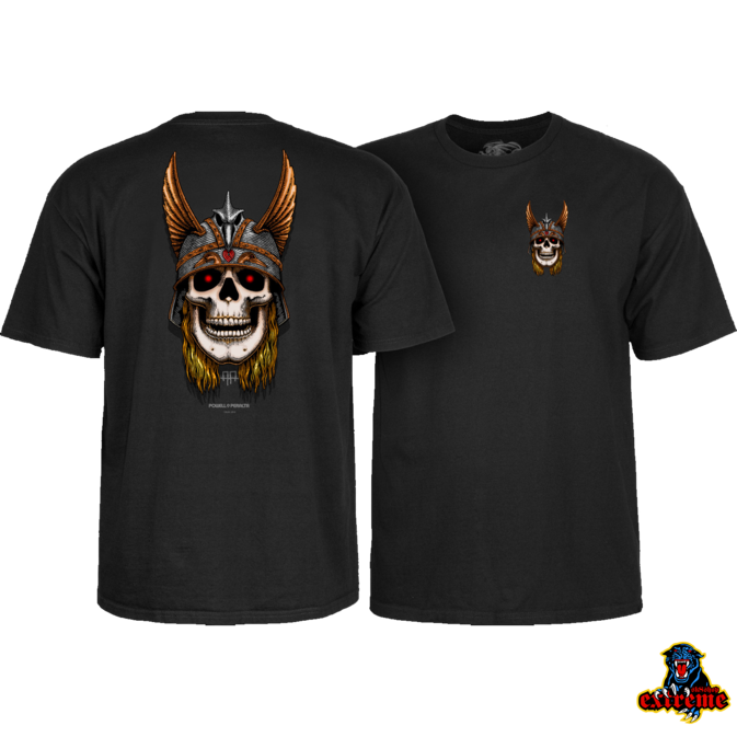 POWELL PERALTA POWELL PERALTA T-SHIRT ANDY ANDERSON SKULL Black
