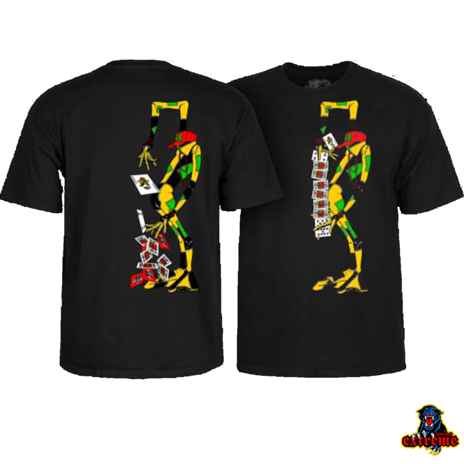 POWELL PERALTA POWELL PERALTA T-SHIRT RAY BARBEE RAG DOLL Black