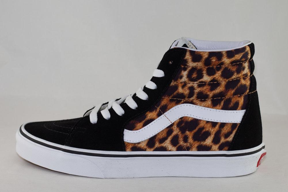 VANS VANS SK8-HI (Leopard) Black/ True White