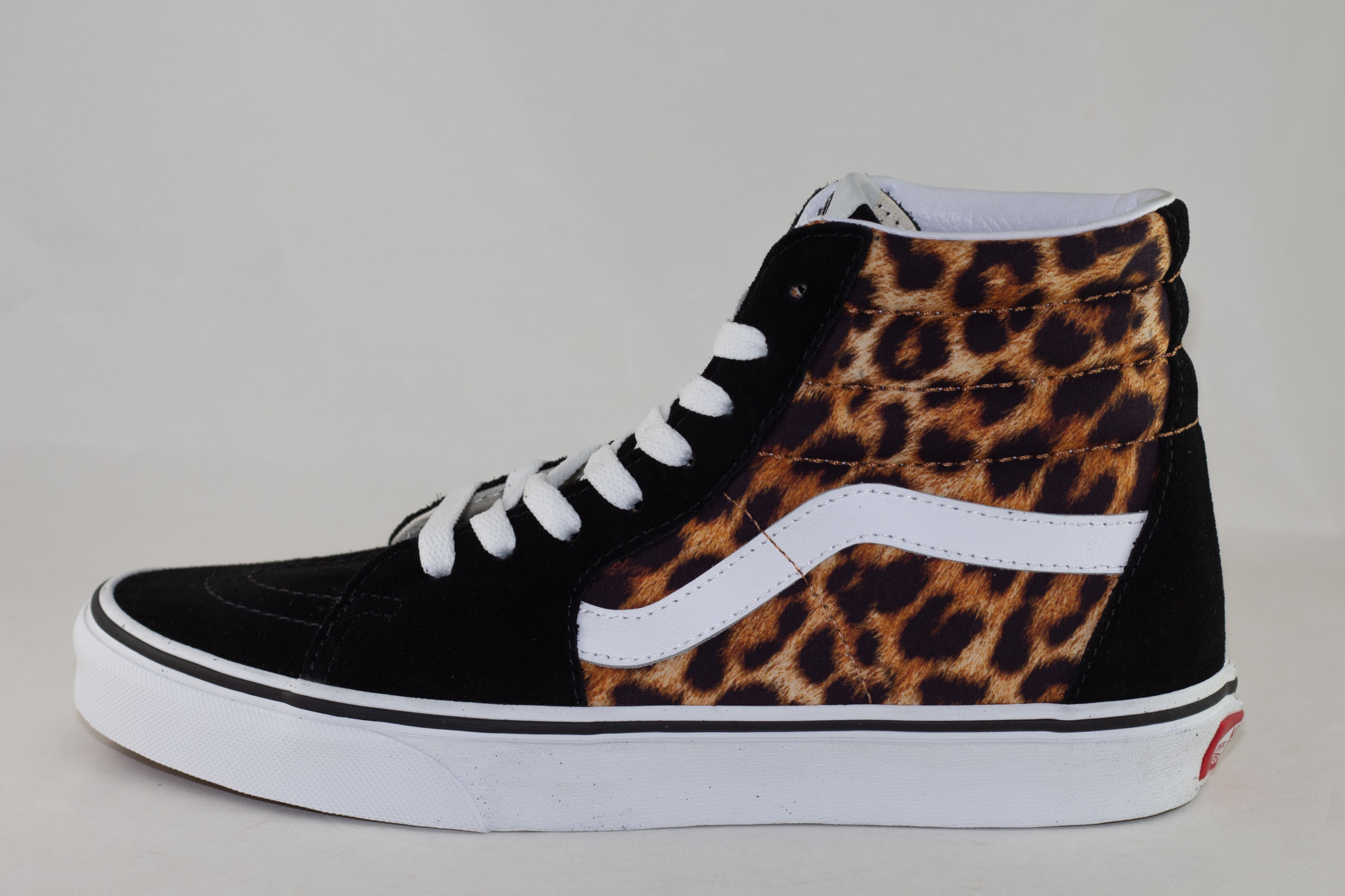 VANS SK8-HI (Leopard) Black/ True White
