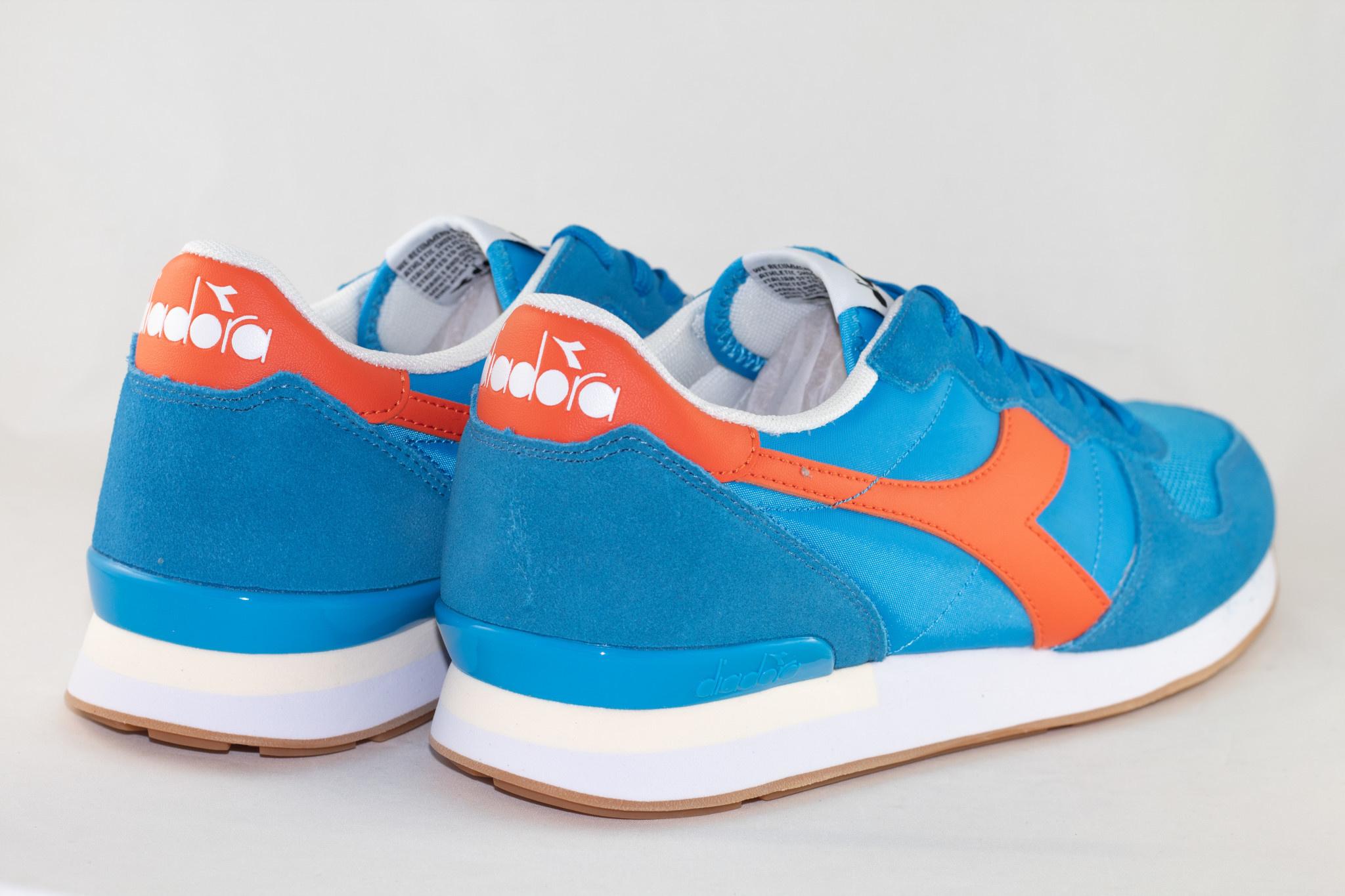 DIADORA CAMARO Swedish Blue/ Red Orange
