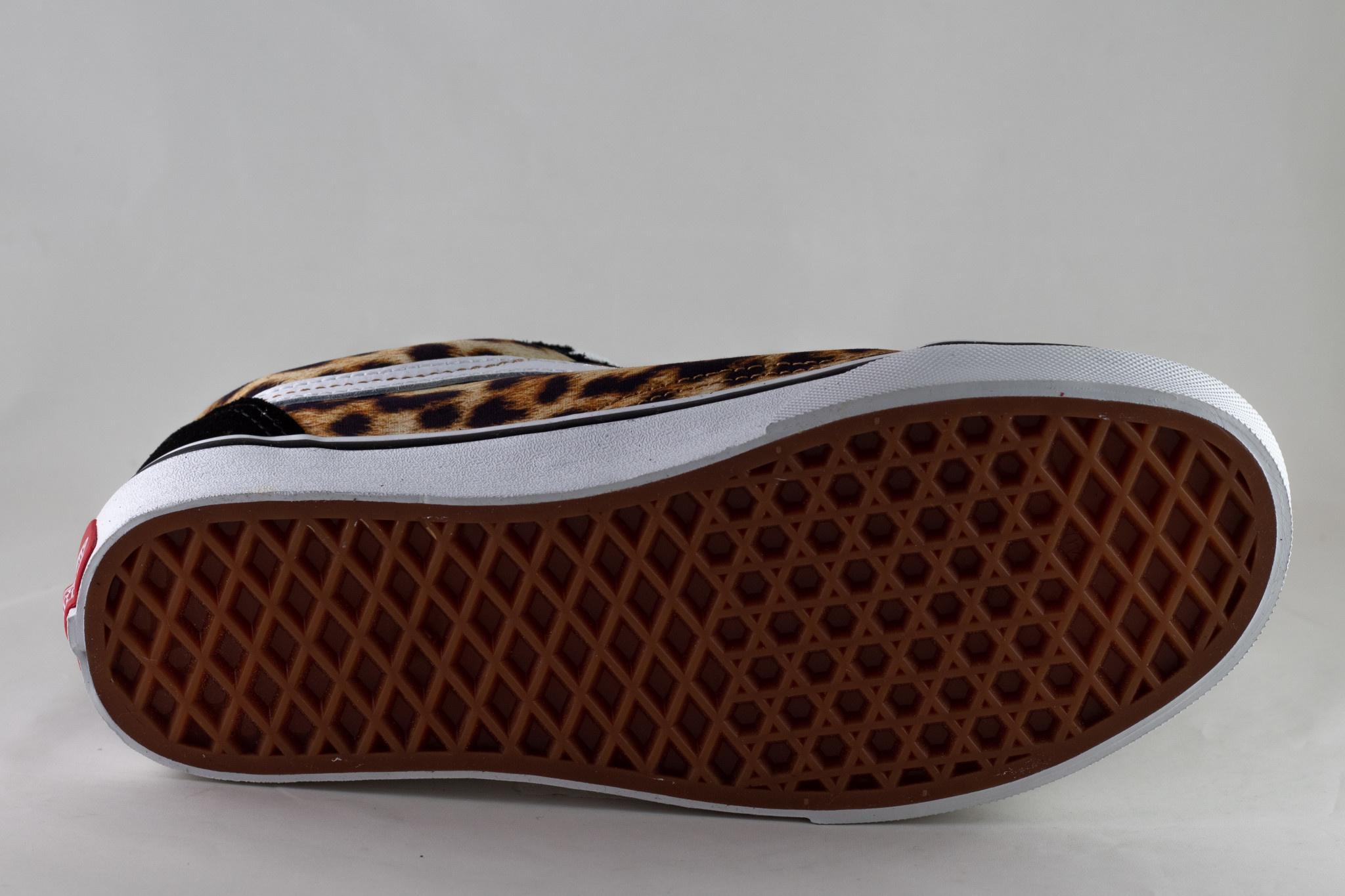 VANS  OLD SKOOL (Leopard) Black/ White