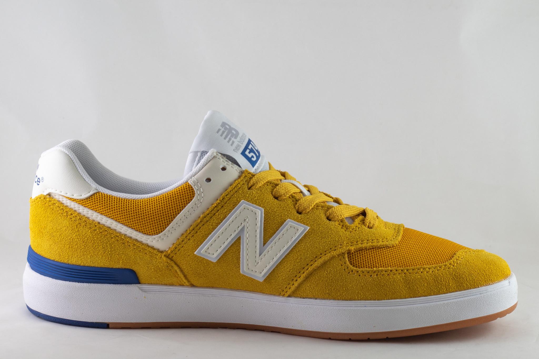 NEW BALANCE AM574YWB Yellow/ White