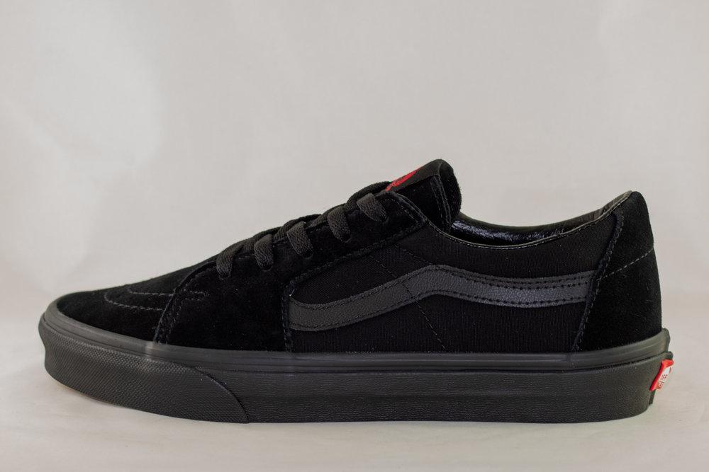 VANS VANS SK8-LOW  Black/ Black