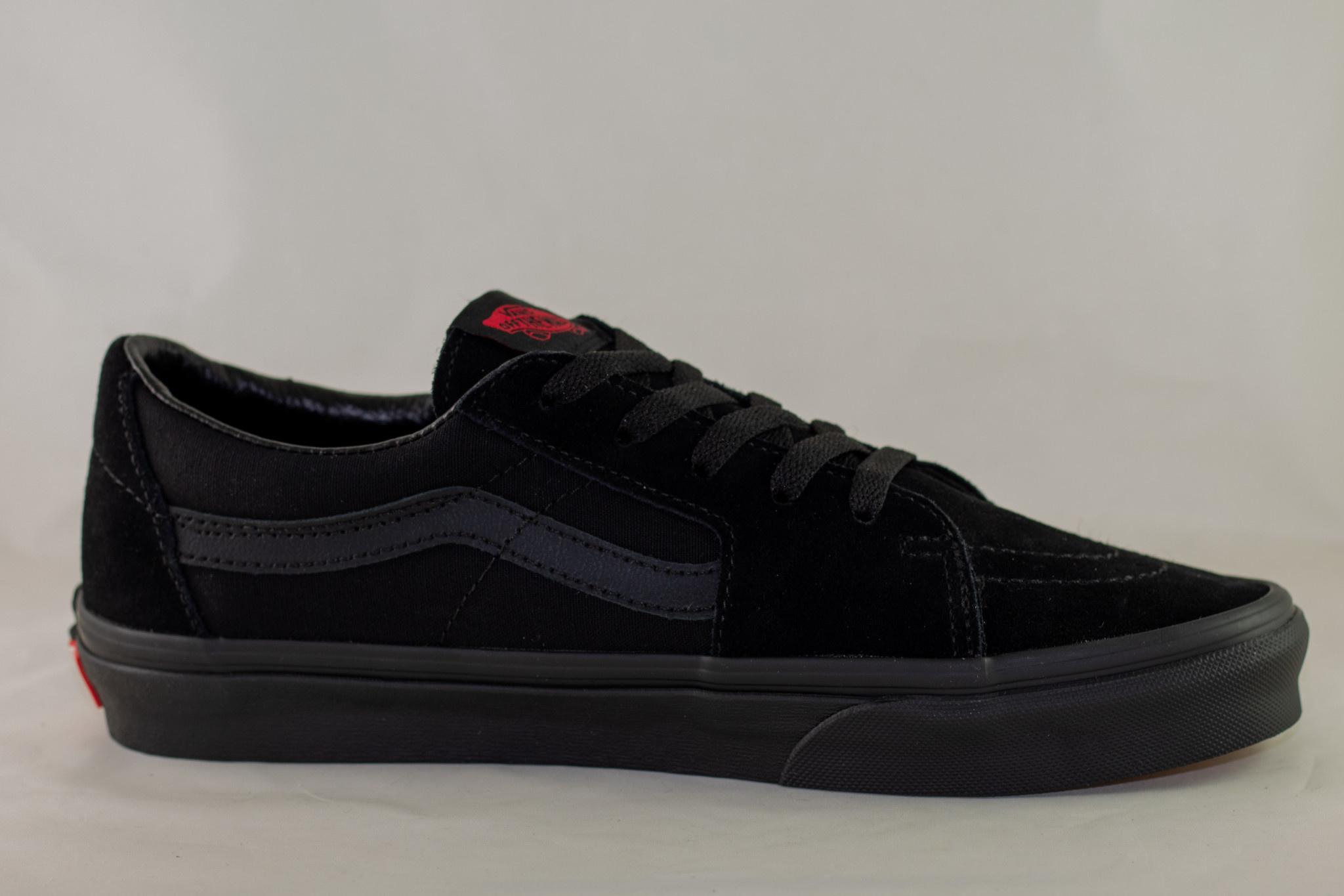 VANS  SK8-LOW  Black/ Black