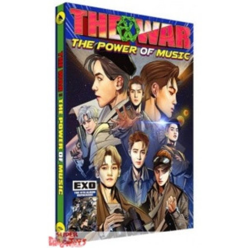 EXO - THE WAR : THE POWER OF MUSIC - REPACKAGE ALBUM - KOREAN EDITION