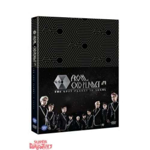 EXO - EXO FROM EXOPLANET 1 - CONCERT THE LOST PLANET IN SEOUL - DVD BOX