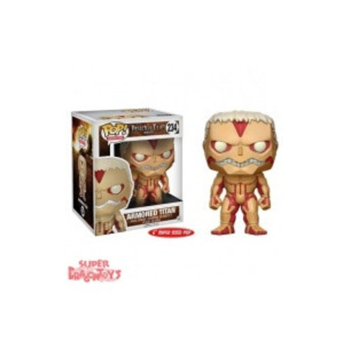 FUNKO  ATTACK ON TITAN - ARMORED TITAN - FUNKO POP SUPER SIZE