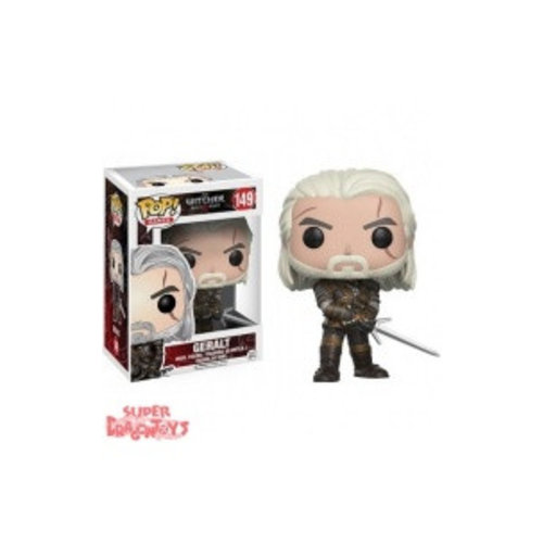 FUNKO  THE WITCHER 3 WILD HUNT - GERALT - FUNKO POP