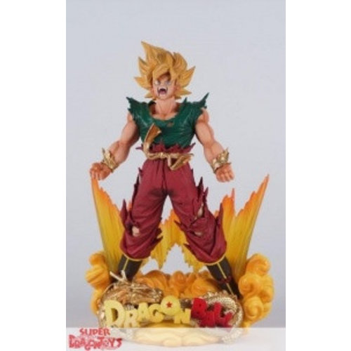 "BANPRESTO  DRAGON BALL Z - SON GOKU - SUPER MASTER STARS DIORAMA ""LUNAR NEW YEAR VER."" LIMITED EDITION"