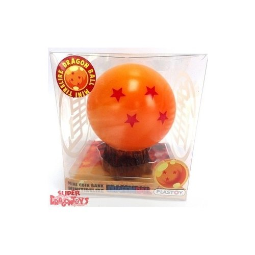 DRAGON BALL - CRYSTAL BALL NO. 4 - MINI COIN BANK