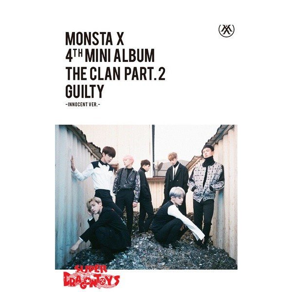 "MONSTA X - THE CLAN PART.2 GUILTY - ""INNOCENT"" VERSION - 4TH MINI ALBUM"