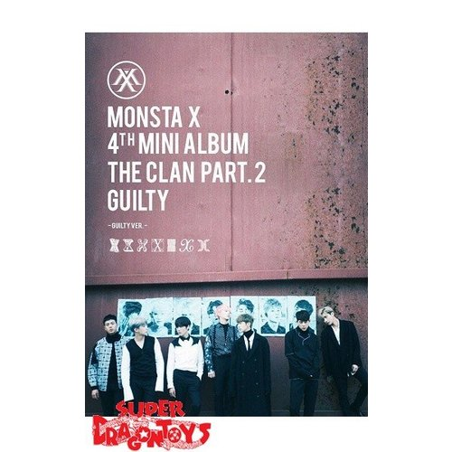 "MONSTA X - THE CLAN PART.2 GUILTY - ""GUILTY"" VERSION - 4TH MINI ALBUM"