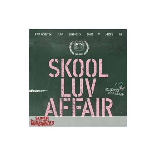 BTS - SKOOL LUV AFFAIR - 2ND MINI ALBUM