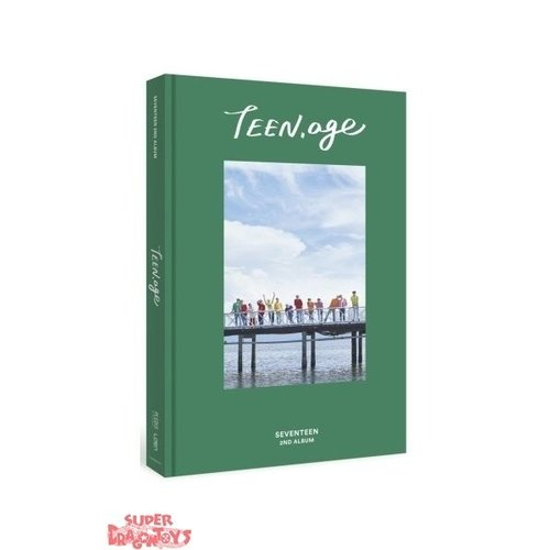 "SEVENTEEN - TEEN, AGE - ""GREEN"" VERSION - 2ND ALBUM"