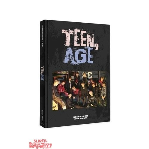 "SEVENTEEN - TEEN, AGE - ""RS"" VERSION - 2ND ALBUM"